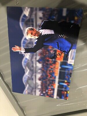 Roy Hodgson Signed A4 Photo England Crystal Palace Fulham  • 6.99£