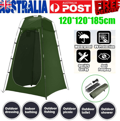 AU45.99 • Buy Camping Outdoor Portable Pop Up Shower Tent Privacy Change Room Green With Bag