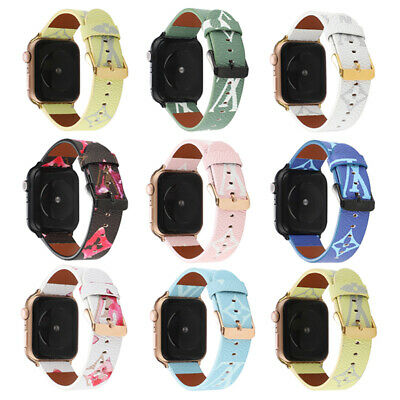AU17.99 • Buy For IWatch Series SE 6 5 4 3 2 1 Genuine Leather Apple Watch Band Strap 42/44mm