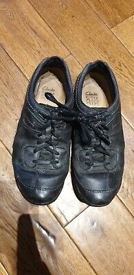 Ladies Mens Walking Outdoors Leather Black Boots UK 8 Gortex Clarks Active Air • 2£