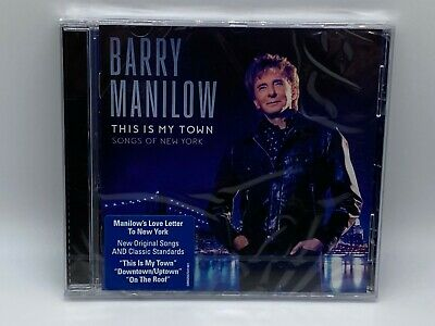 Barry Manilow - This Is My Town Cd 2017 New & Sealed • 5.97£