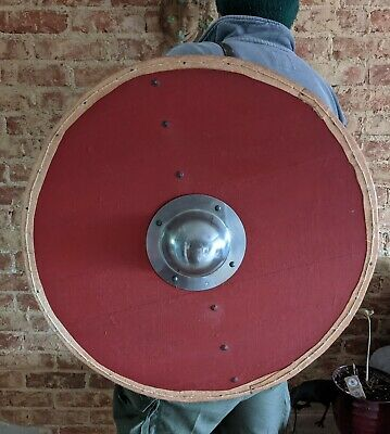Viking Or Saxon Shield. Approx 27  Hand Made ,  Re-enactment, Christmas? • 80£