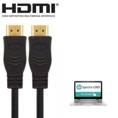 £3.99 • Buy HP Stream, Spectre, Pavilion & Envy Laptop To HDMI TV Monitor  Wire Lead Cable2m