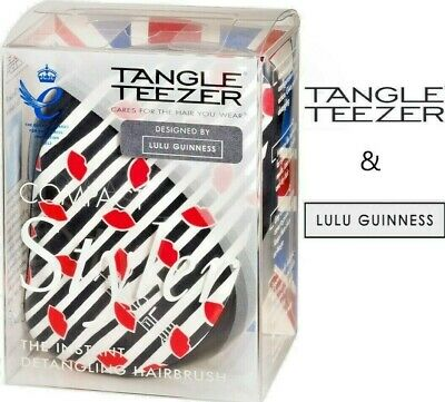 Tangle Teezer Compact Styler Detangle Brush Designed By Lulu Guinness • 7.99£