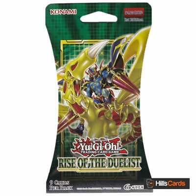YuGiOh Rise Of The Duelist Blister Booster Pack | New & Sealed TCG Cards English • 5.50£