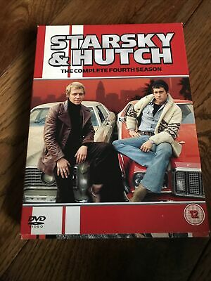 Starsky And Hutch - Series 4 - Complete (DVD, 2006, 5-Disc Set, Box Set) • 2.20£