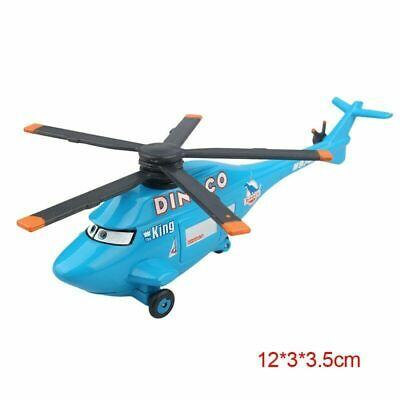 Disney Pixar Cars Dinoco Helicopter Metal Diecast Toy Planes Loose 1:55 Gift • 1.20£