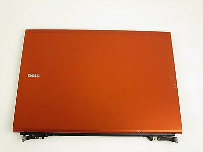 $29.99 • Buy Dell Precision M6500 Orange Covet Lcd Back Cover Lid With Hinges - 0P7F6 B