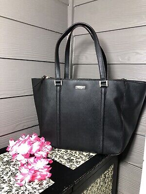 $ CDN35.50 • Buy Kate Spade New York Black Leather, Extra Large Tote
