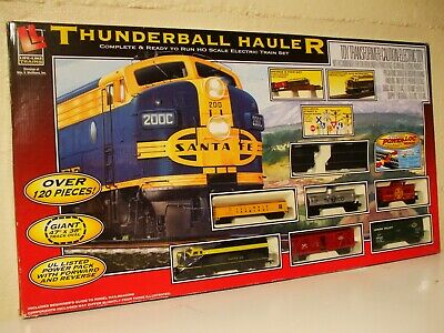$ CDN162.19 • Buy Life-Like Large HO Scale Thunderball Hauler Electric Train Set Complete