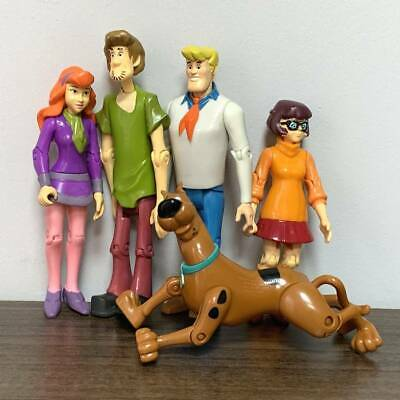 £14.15 • Buy 5x Scooby-Doo Mystery Solving Crew Velma Daphne Fred Shaggy 5 Inch. Figure Toy