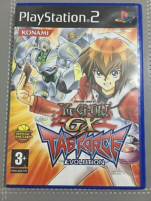 Yu-Gi-Oh GX Tag Force Evolution PS2 Playstation2 Complete & **Tested** PAL Rare • 12.99£