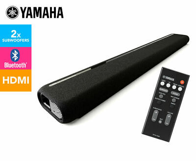AU127.50 • Buy Yamaha ATS-1060 Bluetooth Sound Bar (Soundbar) With Dual Built-in Subwoofers