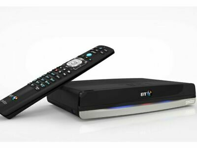 BT Humax DTR-T2100 500GB YouView Recorder Unit With 2 Remotes • 14.40£