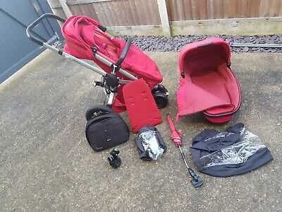 £150 • Buy Quinny Buzz Extra Pushchair Stroller Travel System + Accessories.