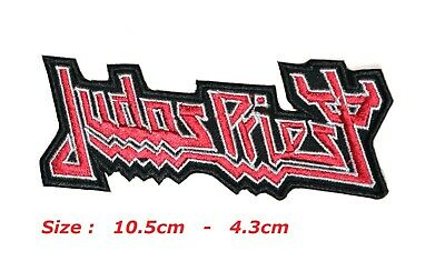 £2.49 • Buy Judas Priest Music Band Embroidered Patch Iron Or Sew On Applique Badge