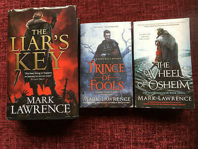 Mark Lawrence, The Red Queen's War - Set Of Three Books • 5£