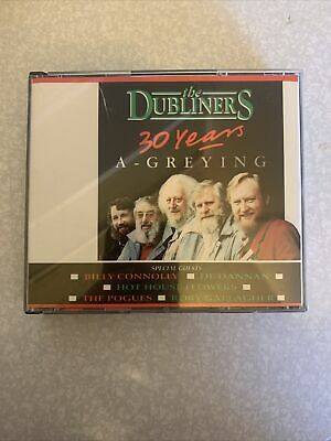 The Dubliners 30 Years A-Greying CD • 5£