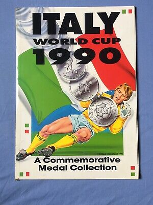 £550 • Buy Italy World Cup 1990 Medal And Coin Collection Complete Set