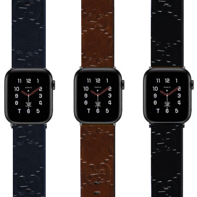 $ CDN28.02 • Buy Designer Leather Apple Watch Band Strap For Series 1 2 3 4 5 6 | G