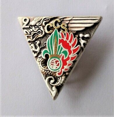 French Foreign Legion 2 REP CCS Badge,1999 FG/PARALELL • 25£