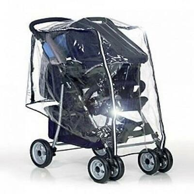 Hauck TRAVEL SYSTEM RAINCOVER - SHOP N DRIVE Pushchair Waterproof Cover BNIP • 11.49£