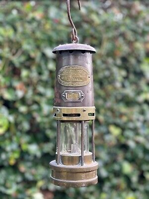 Genuine Welsh Miner's Lamp (1955) Used Condition Is Good • 40£