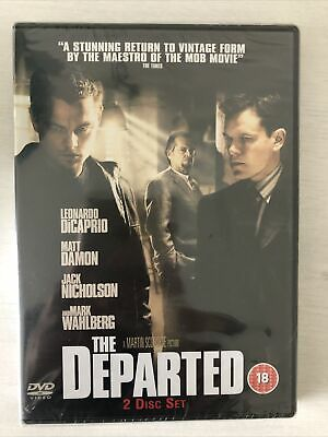 The Departed 2 Disc Set DVD • 1.45£
