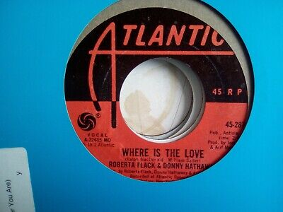 Roberta Flack And Donny Hathaway Where Is The Love • 4£