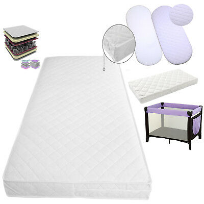 £36.40 • Buy For Baby Cot Bed Breathable Quilted And Waterproof Foam Mattress All Sizes