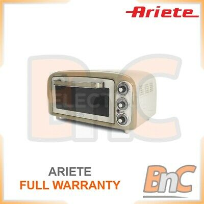 £104.99 • Buy ARIETE Oven Electric 1380 W 18 L Compact Table Top Grill Baking Cooking Roast