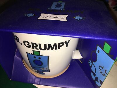 Mr. Grumpy Coffee/Tea Mug Mr. Men 2016 Roger Hargreaves Bell & Curfew Boxed • 5£