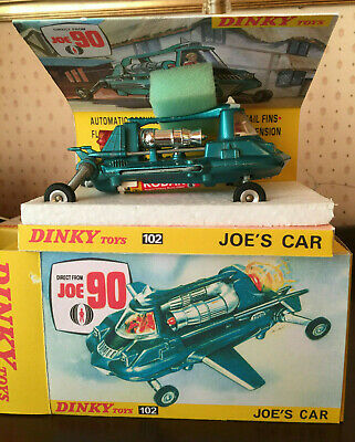 Dinky 102 Joe 90 Joes Car Plus Reproduction Box And Inner • 39.99£