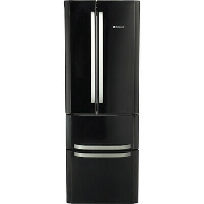 Hotpoint FFU4D.1K (70cm Wide X 195cm Tall) FROST FREE Fridge Freezer - Black • 429.99£