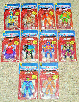 $300 • Buy Masters Of The Universe Origins COMPLETE WAVE 1 & 2 - 10 FIGURE SET / COLLECTION