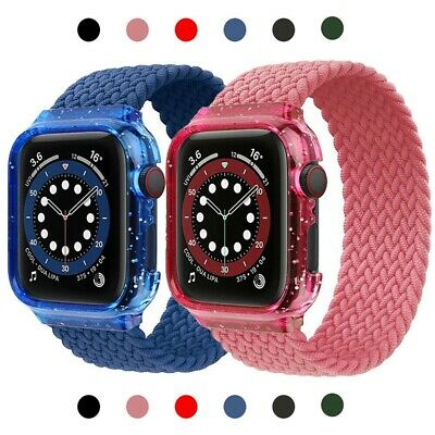 AU14.99 • Buy For IWatch Series SE 6 5 4 3 2 1 Elastic Nylon Apple Watch Band Strap 44mm 40mm