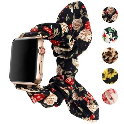 AU16.99 • Buy 42/44mm Elastic Strap Apple Watch Band For IWatch Series SE 6 5 4 3 2 1 38/40mm