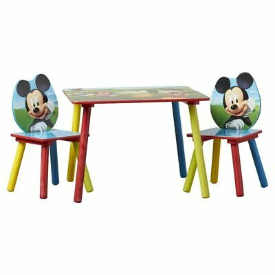 £125.99 • Buy Delta Children Mickey Mouse Kids 3 Piece Writing Table And Chair Set DEL1667