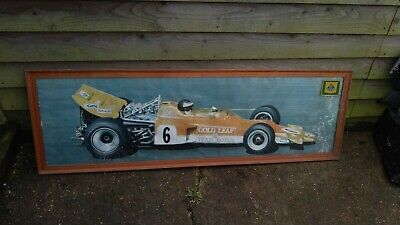 Jochen Rindt Large Framed Picture Circa Late 1960s  • 7.50£