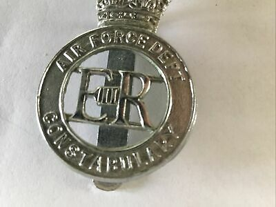 Vintage Obsolete  Air Force Dept  Constabulary Police Cap Badge • 4.99£