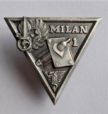 French Foreign Legion 2 REP Op Hermine Milan Section Badge, Numbered • 30£