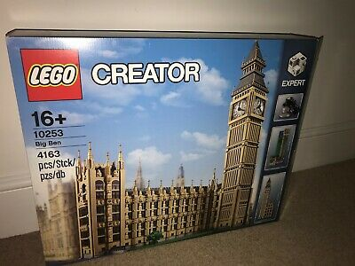 LEGO BIG BEN - CREATOR - 10253 RETIRED 100% Complete With Box And Instructions • 128£