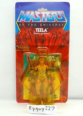 $950 • Buy MOTU, Teela, 8-back, Masters Of The Universe, MOC, Sealed Figure, He Man Vintage