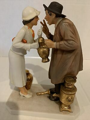 $ CDN23.34 • Buy Vintage Norman Rockwell  Antique Dealer  Gorham Porcelain Figurine With Box