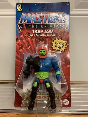 $30 • Buy Masters Of The Universe Origins Trap Jaw Action Figure New 2020 Unpunched