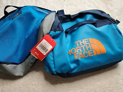 The North Face Basecamp Duffel Packable Travel Suitcase Large Bag Blue New 95L • 87.58£