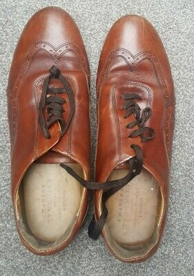 £35 • Buy Charles Tyrwhitt  Mens Brown Leather Lace Up Smart/work/formal Shoes Size 9