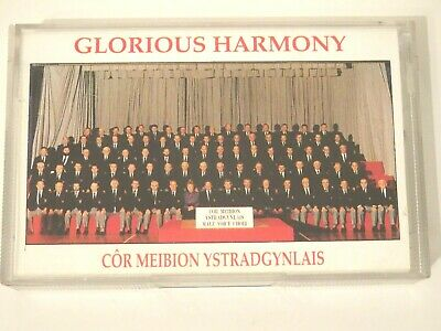 Glorious Harmony Cor Meibion Ystradgynlais Cassette Tape Black Mountain Records • 4.99£