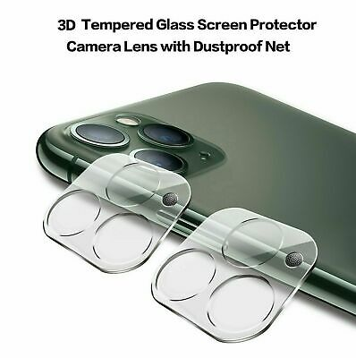 9H Camera Lens For IPhone 12, 11 Pro MAX Case Protector Tempered Glass Cover • 3.50£