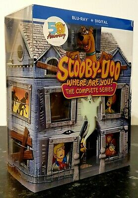 Scooby-Doo-Where Are You-Complete Series Ltd.Ed. Bluray Mansion 50th Anniversary • 99.99£